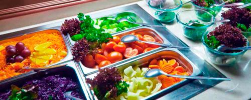 Kjølet salatdisk fra Essnor